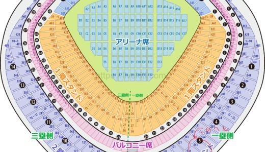 Aqours4thライブ!東京ドームの座席の場所どうだった?